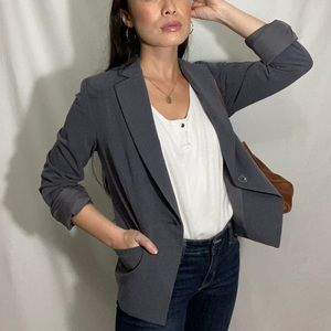 Womens Nordstrom gray blazer size 4 or small